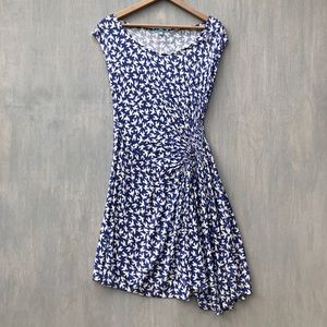 Anthropologie Leifnotes white gulls dress M